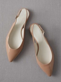 Boden Pointed Slingbacks