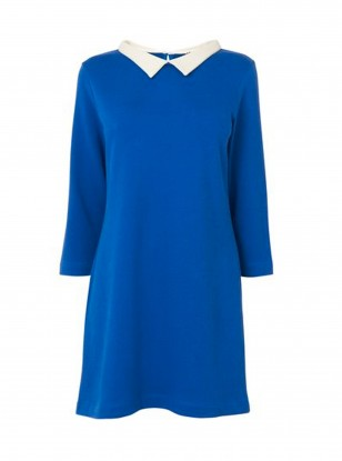 Jaeger Electric Blue Dress
