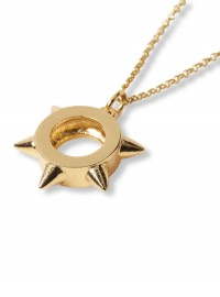 Kurt Geiger Gold Spike Necklace