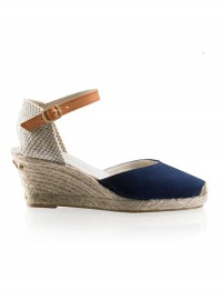Russell & Bromley Navy Espadrilles