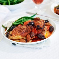 Baked Chicken with Chorizo
