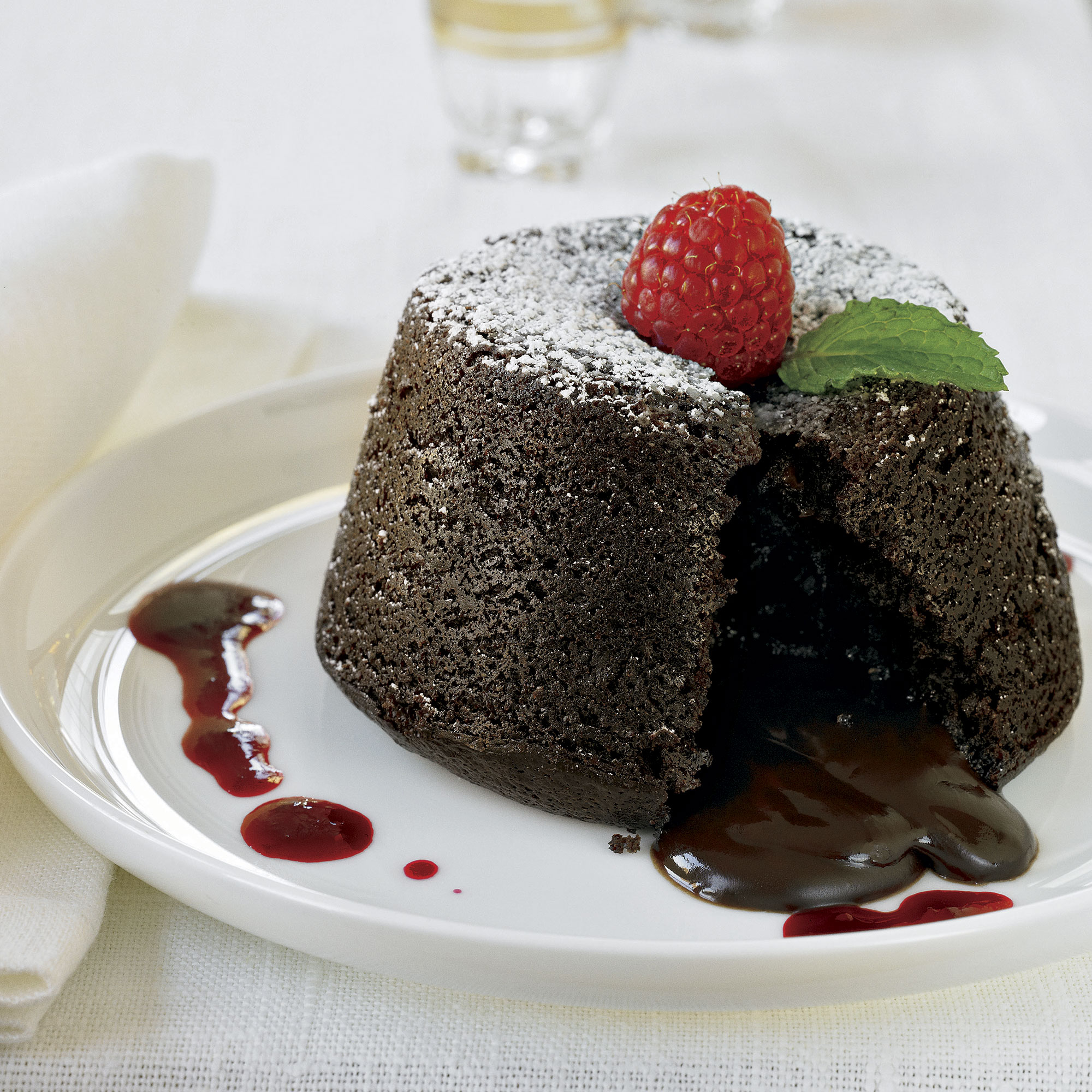 Permalink to Chocolate Molten Lava Cake