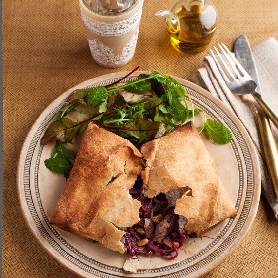 Sumac-Scented Chicken Parcels Recipe