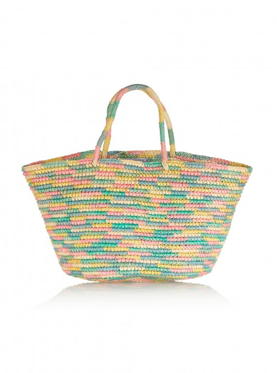 Sensi Studio Straw Beach Bag photo