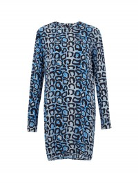 Equipment Blue Silk Dress at Liberty