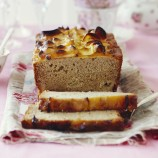 Apple and clotted cream loaf