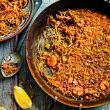 Paella with Pasta