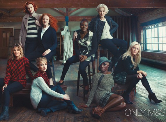 marks and spencer autumn winter advertising campaign