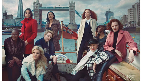 Marks & Spencer has always attracted some of the biggest names, but for next season's campaign they've managed to snap up a real all-star cast - including not one but two w&h cover stars! See all the pictures now...