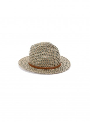 Accessorize Belted Two Tone Fedora