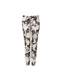Topshop Huge Flower Skinny Trousers