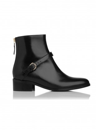 Jamie Leather Biker Boot
