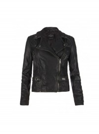 All Saints Cargo Leather Biker Jacket