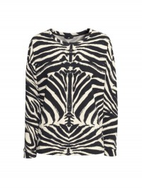 H&M Animal Print Sweatshirt