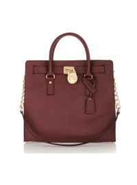 Michael Michael Kors Hamilton Large Textured Leather Tote