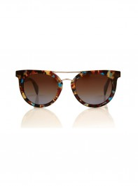 Prada Tortoiseshell Round Acetate Sunglasses at Liberty