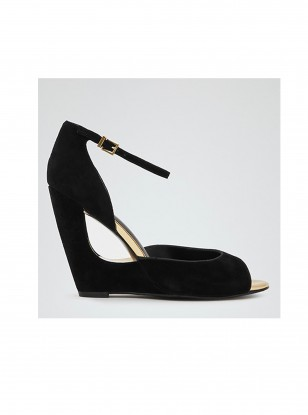Reiss Gitta Cut Out Wedge Sandals