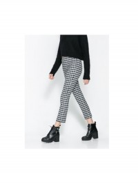 Zara Checkered Trousers