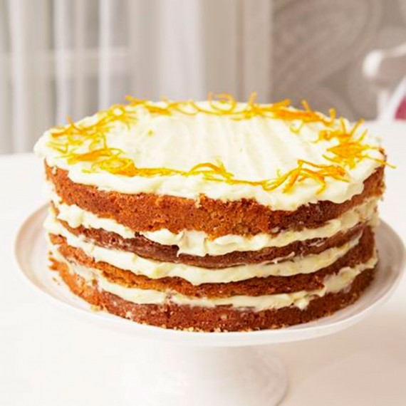 Mary Berry's Orange Layer Cake - Woman And Home