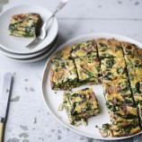 Rachel Allen's Spinach and Bacon Frittata