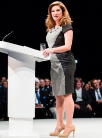 Karren Brady Speaks Out At Tory Party Conference