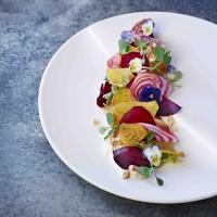Beetroot, Apple and Feta Curd Salad