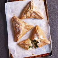Paul Hollywood's Spinach, Feta & Pine Nut Parcels