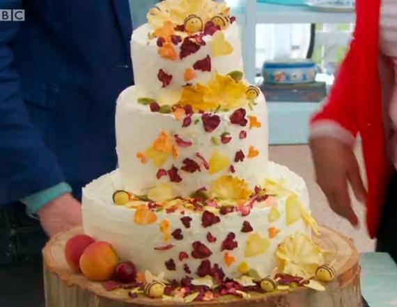 Francis Great British Bake Off Wedding Cake