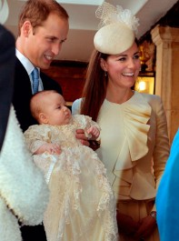 The Christening Of Prince George