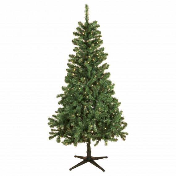 Christmas Tree With Lights Tesco: Very Glisten 7ft Christmas Tree, £99