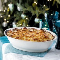 Fish Pie with Rosti Topping