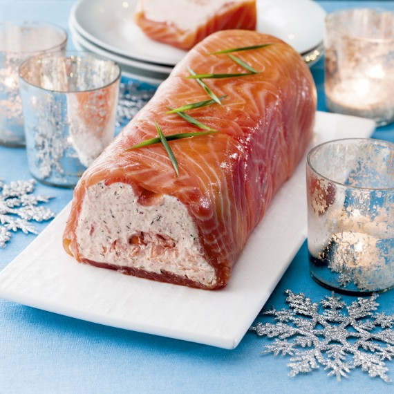 Photo of Smoked salmon terrine