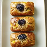 Almond, Blackberry and Peach Friands