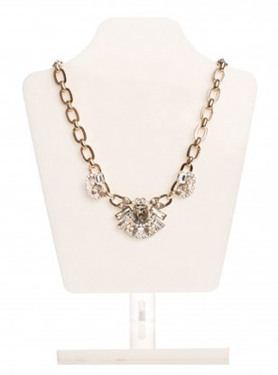 Accessorize Beth Chunky Chain Statement Collar Necklace