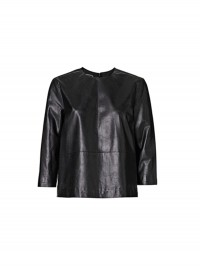 By Malene Birger Khamisi Leather Top