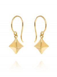Dinny Hall at Liberty Gold Vermeil Almaz Diamond Drop Earrings