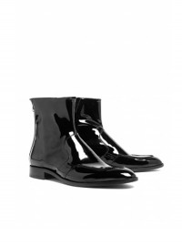 Paul Smith Shoes Miles Patent Vernice Ankle Boots
