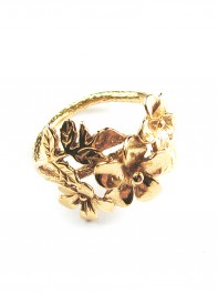 Alex Monroe Calabria Flower Ring