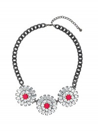 Freedom at Topshop Flower Necklace