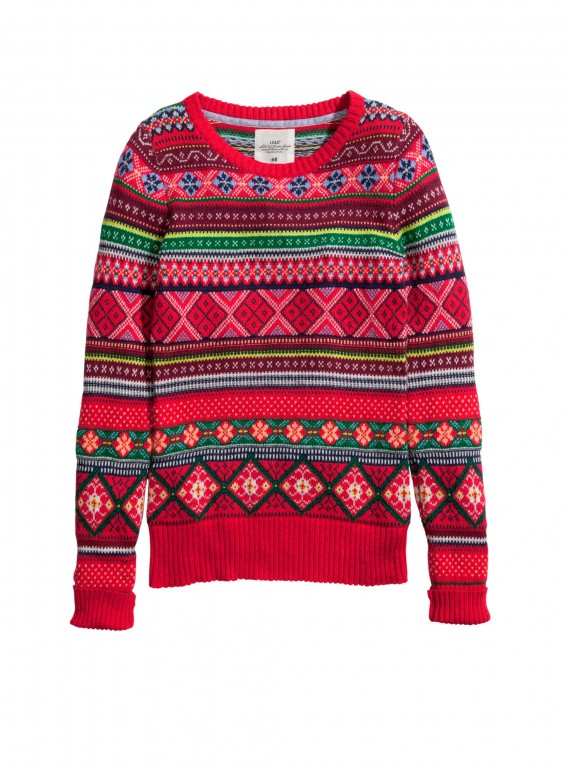 H&M Christmas jumper photo