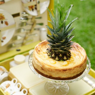 Pineapple and Passionfruit Cheesecake