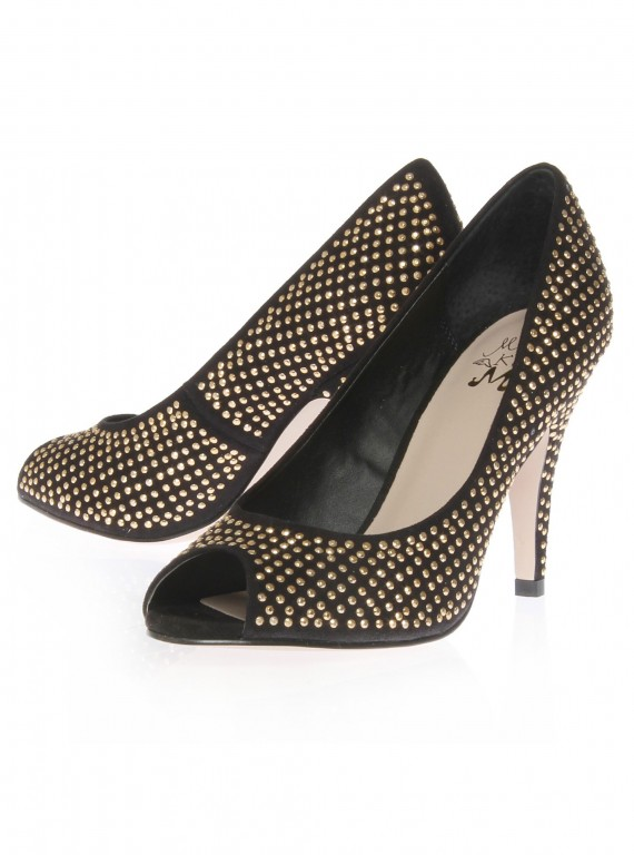 Photo of Kurt Geiger Miss KG Pixie Peep Toe Shoes