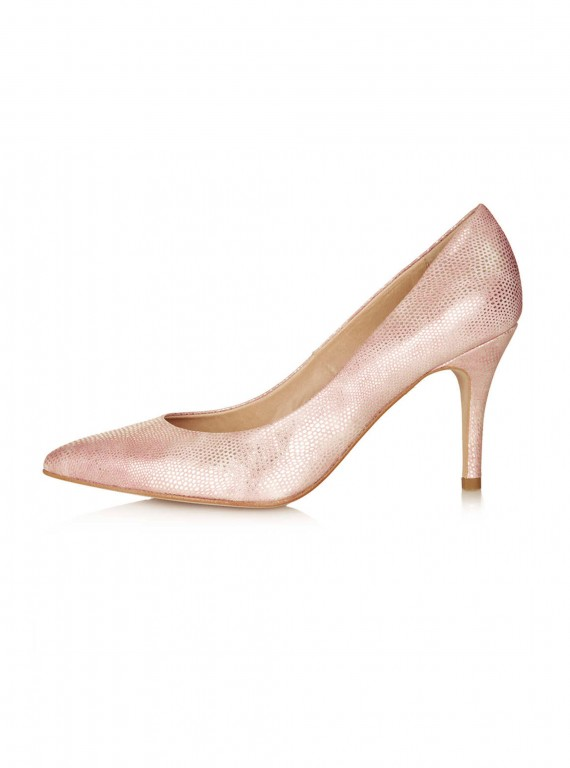 Photo of Topshop Gene Leather Court Shoes