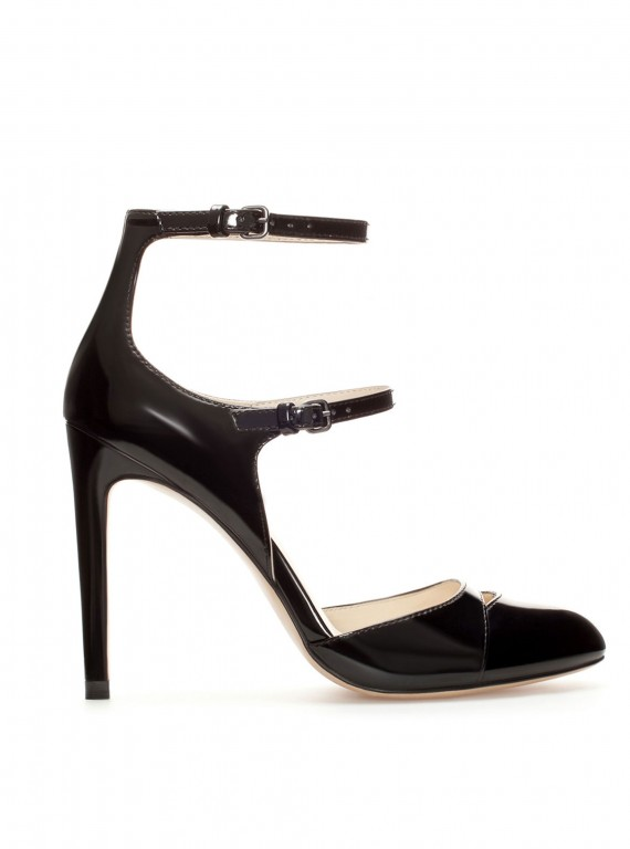 Photo of the Zara High Heel Court Shoe With Straps