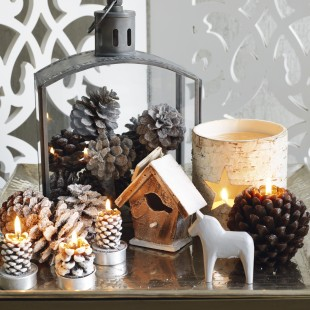5 Minute Ideas To Dress Your Christmas Table
