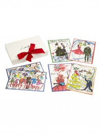 Lanvin Happy Holidays Set of 10 Notecards