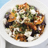 Squash and beetroot salad