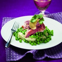 Slow-Cooked Ham Hock with Mustard Mash