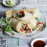 Roast Duck Rice Rolls
