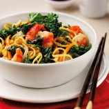 Chinese Prawn and Kale Stir-Fry